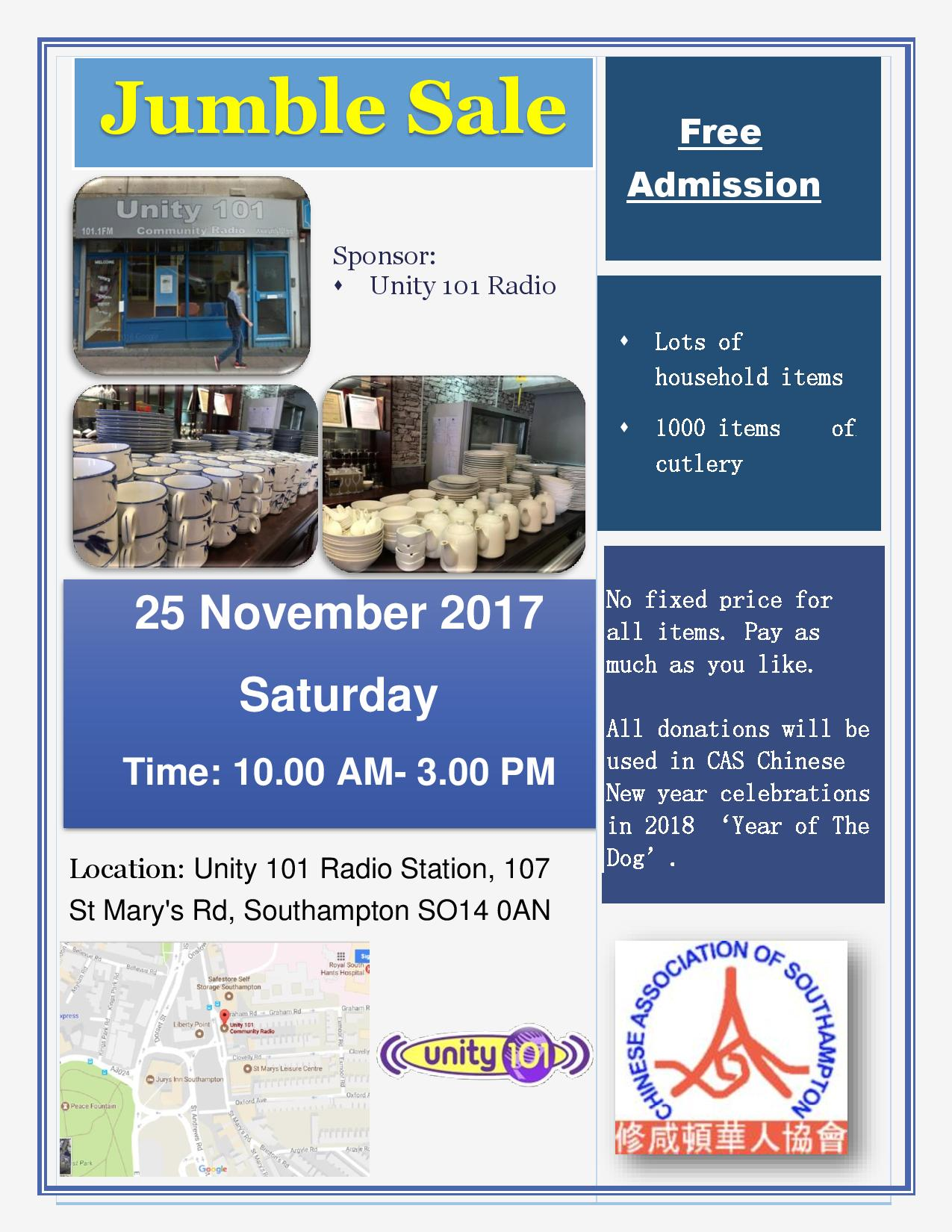 CAS_Jumble_Sale_Poster_November_2017-English